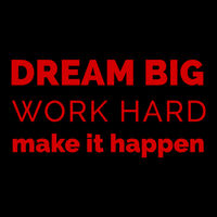Dream Big Work Hard  Thumbnail