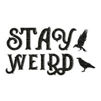 Stay Weird   Thumbnail