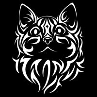 Tribal Cat  Thumbnail
